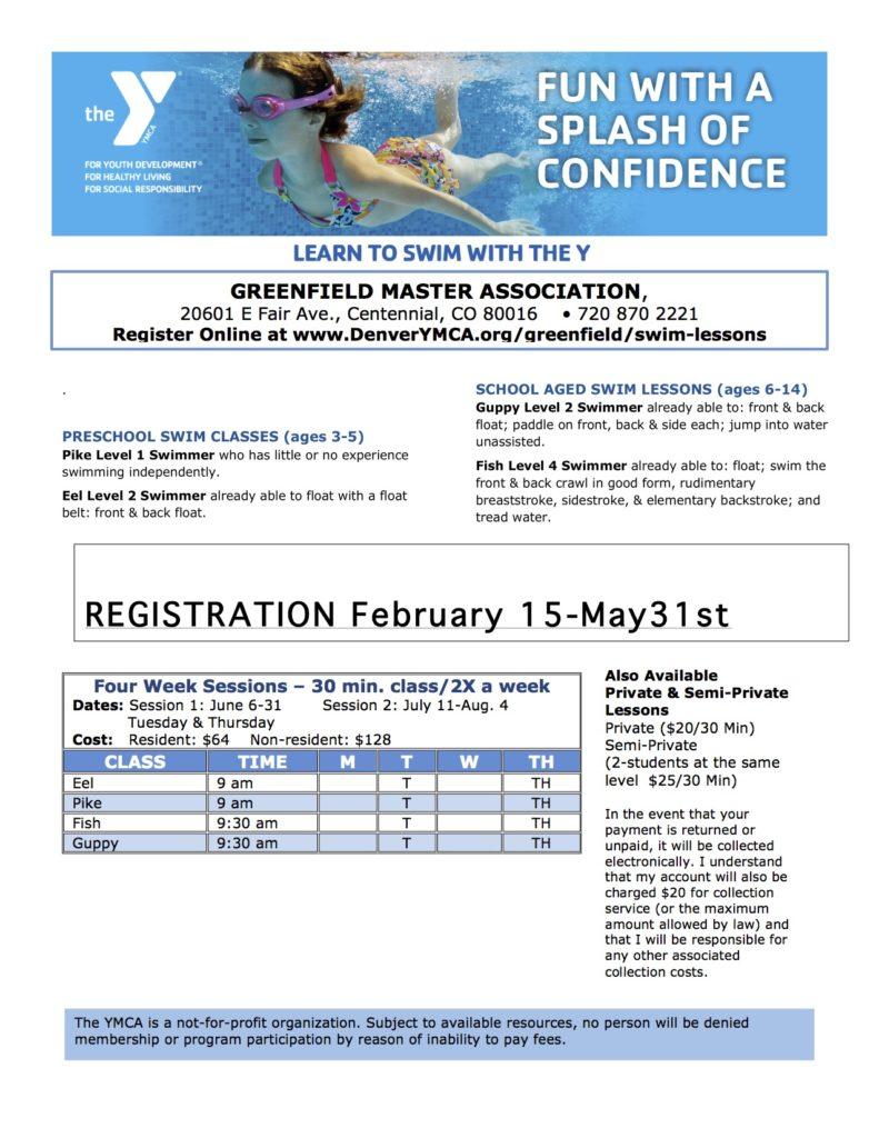 Greenfield swim Flyer 2017 copy